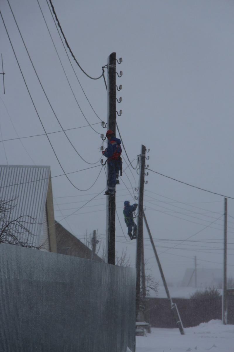 Погода выводит из строя электроустановки