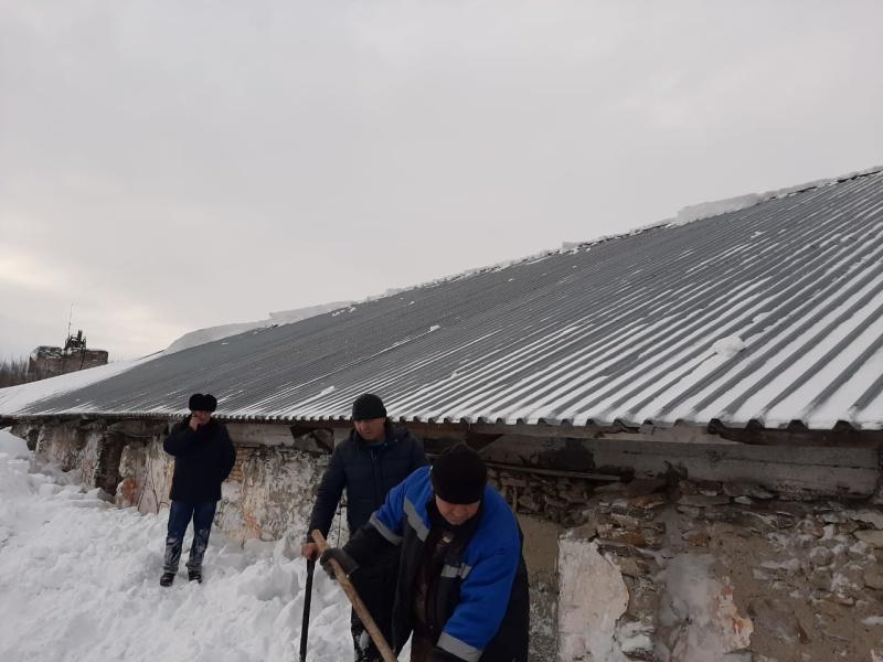 Сход снега
