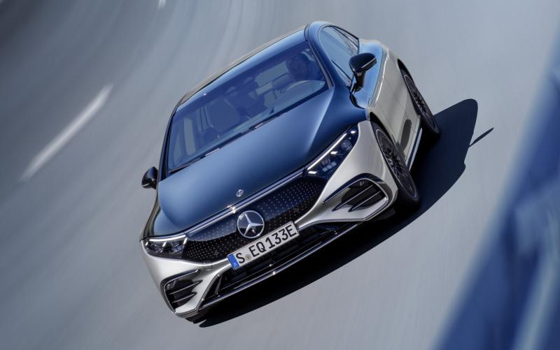 Фото Mercedes-Benz EQS